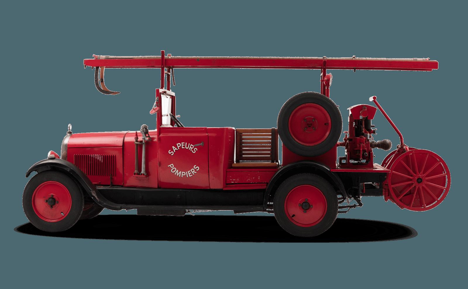 Citroen b14f pompiers -