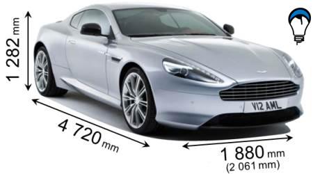 Aston martin DB9 - 2013