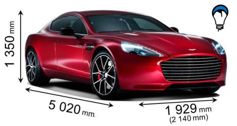 Aston martin RAPIDE S - 2013