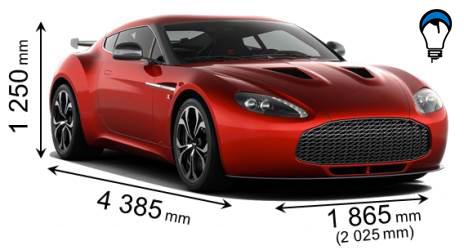 Aston martin V12 ZAGATO - 2012