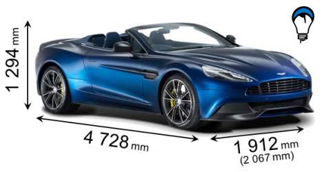 Aston martin VANQUISH VOLANTE - 2013