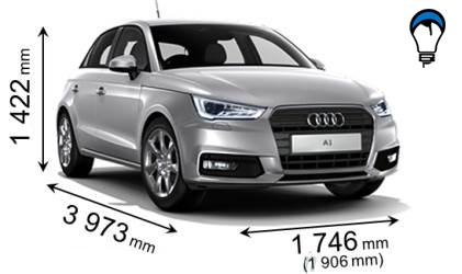 Audi A1 SPORTBACK - 2015