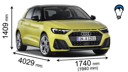 Audi A1 SPORTBACK - 2019