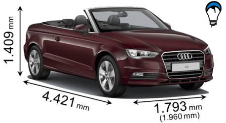 Audi A3 CABRIO - 2013