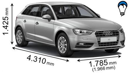 Audi A3 SPORTBACK - 2013