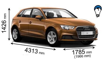 Audi A3 SPORTBACK - 2016