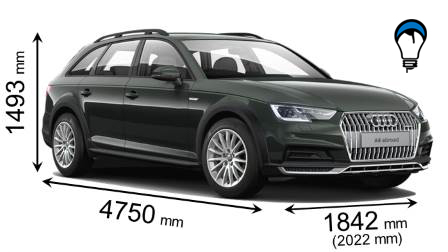 Audi A4 ALLROAD QUATTRO - 2016