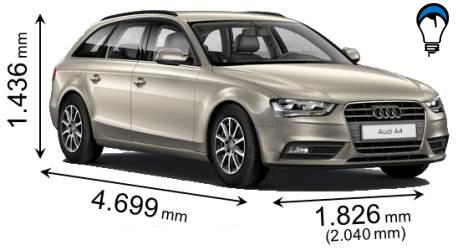 Audi A4 BREAK - 2012