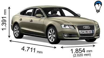 Audi A5 SPORTBACK - 2008