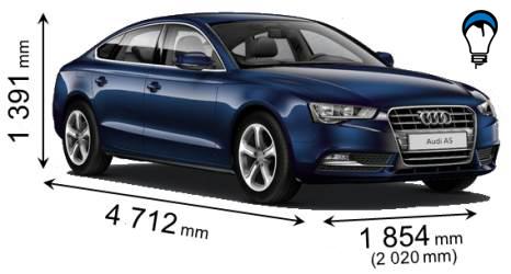 Audi A5 SPORTBACK - 2011