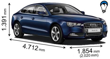 Audi A5 SPORTBACK - 2012
