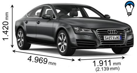 Audi A7 SPORTBACK - 2011