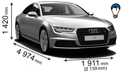 Audi A7 SPORTBACK - 2014
