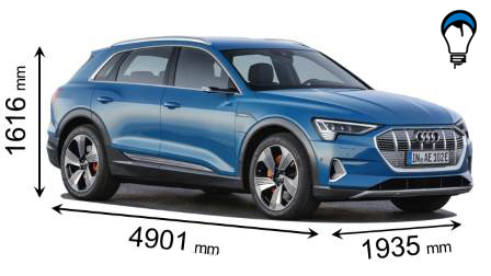 Audi E TRON - 2019