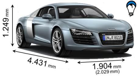 Audi R8 - 2009