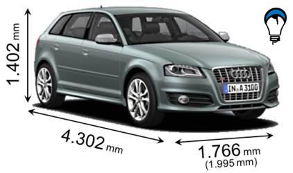 Audi S3 SPORTBACK - 2010