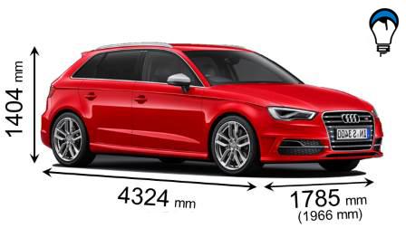 Audi S3 SPORTBACK - 2013