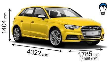 Audi S3 SPORTBACK - 2016