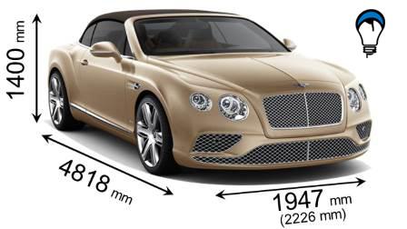 Bentley CONTINENTAL GT CABRIOLET - 2015