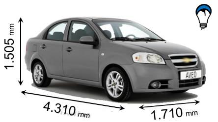 Chevrolet AVEO SEDAN - 2006
