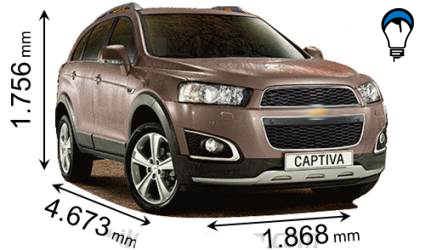 Chevrolet CAPTIVA - 2013