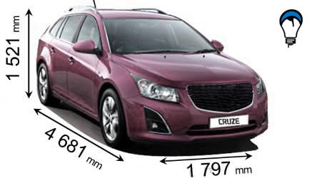 Chevrolet CRUZE SW - 2012