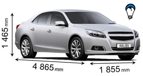 Chevrolet MALIBU - 2012