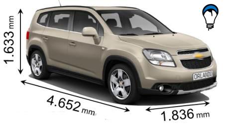 Chevrolet ORLANDO - 2011