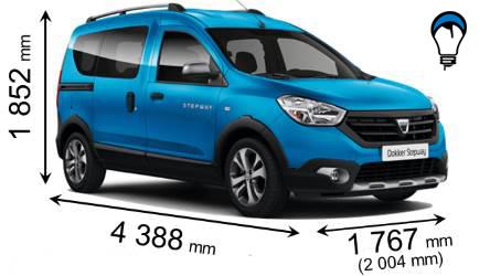 Dacia DOKKER STEPWAY - 2015