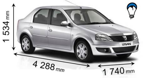 Dacia LOGAN - 2009