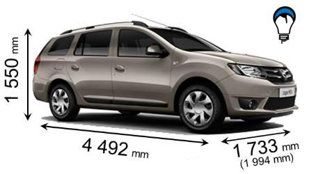 Dacia LOGAN MCV - 2014
