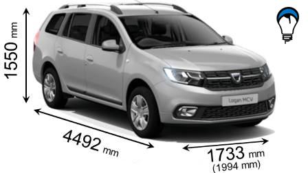 Dacia LOGAN MCV - 2017