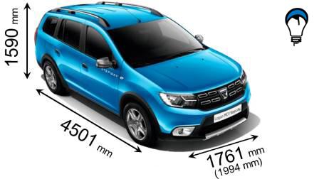 Dacia LOGAN MCV STEPWAY - 2017