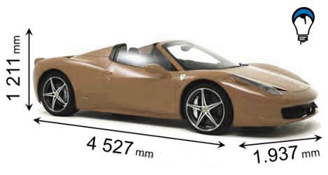 Ferrari 458 SPIDER - 2012