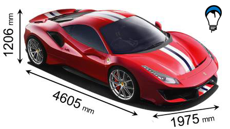 Ferrari 488 PISTA - 2018