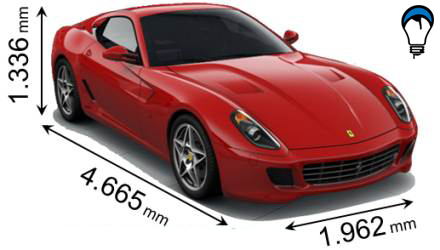 Ferrari 599 GTB FIORANO - 2009