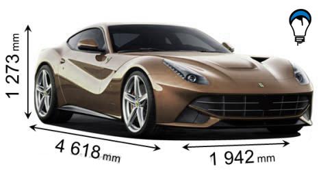 Ferrari F12 BERLINETTA - 2012
