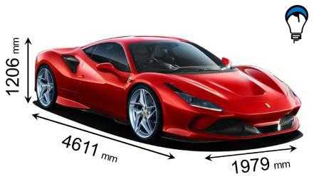 Ferrari F8 TRIBUTO - 2019