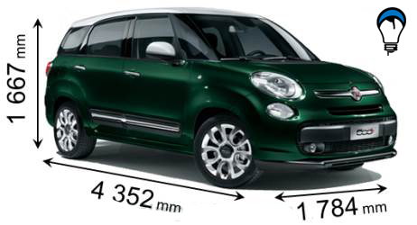 Fiat 500L LIVING - 2013