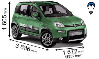 Fiat PANDA 4X4 - 2012