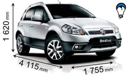 Fiat SEDICI - 2010