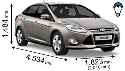 Ford FOCUS SEDAN - 2011