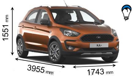 Ford KA PLUS ACTIVE - 2018