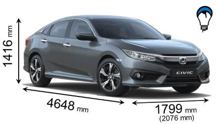 Honda CIVIC SEDAN - 2017
