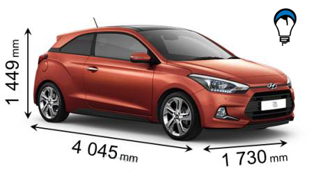 Hyundai I20 COUPE - 2015