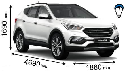 Hyundai SANTA FE - 2016