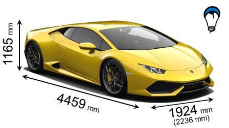 Lamborghini HURACAN COUPE - 2014