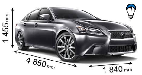Lexus GS - 2012