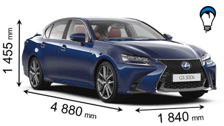 Lexus GS - 2016