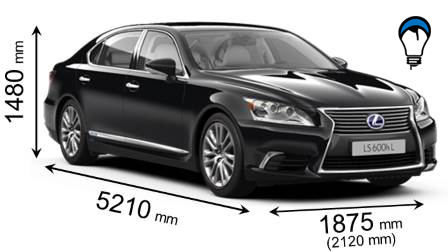 Lexus LS L - 2013